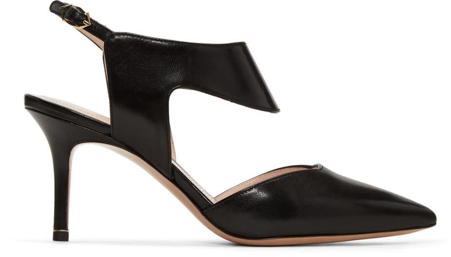 Nicholas Kirkwood Black Leda Heels