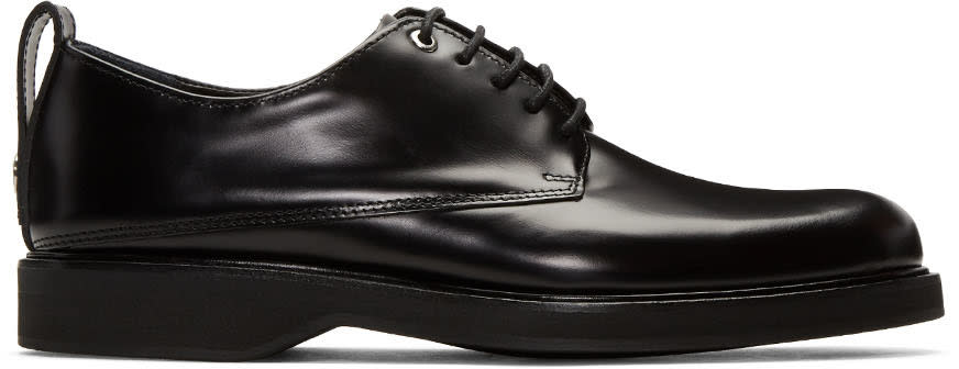 Want Les Essentiels Black Montoro Derbys