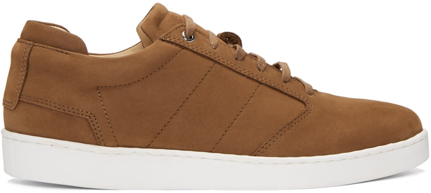Want Les Essentiels Brown Nubuck Lennon Sneakers
