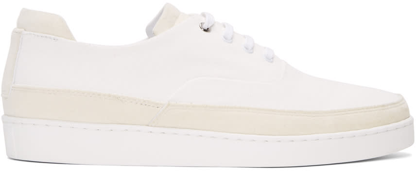 Want Les Essentiels White Smith Sneakers