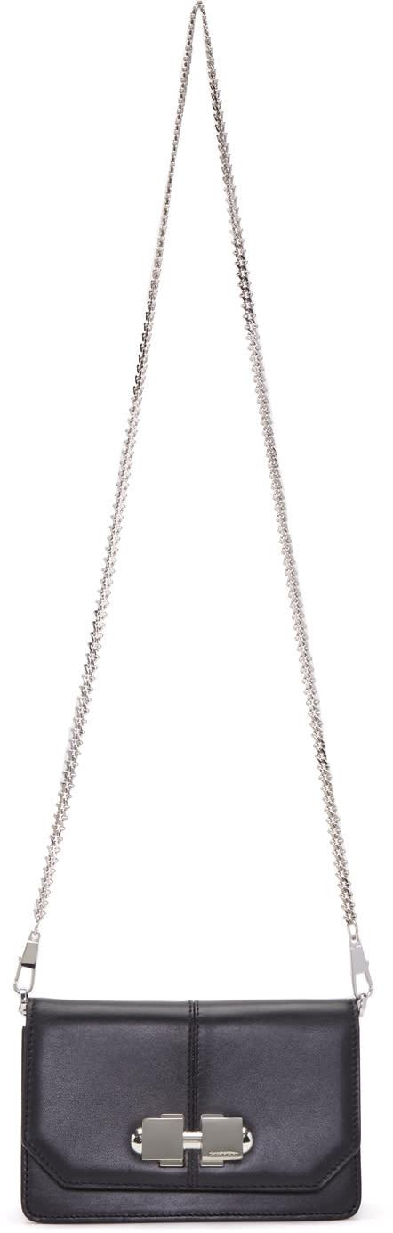 Image of Carven Black Chain Shoulder Bag