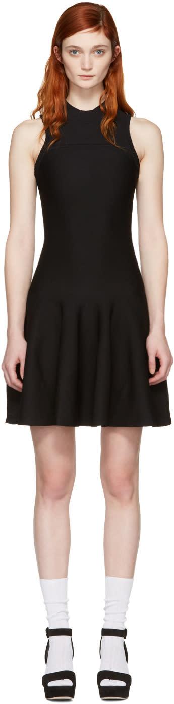 Carven Black Knit Dress