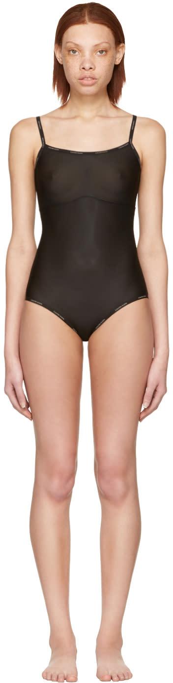 Calvin Klein Underwear Black Tank Bodysuit
