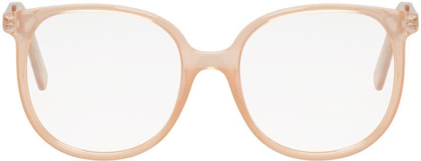 Chloe Pink Round Glasses