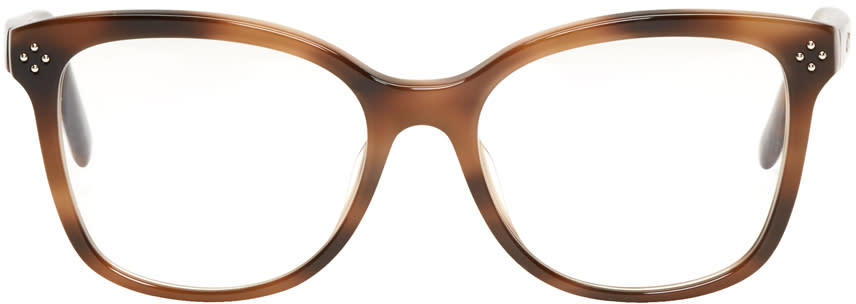 Chloé Tortoiseshell Rectangular Glasses