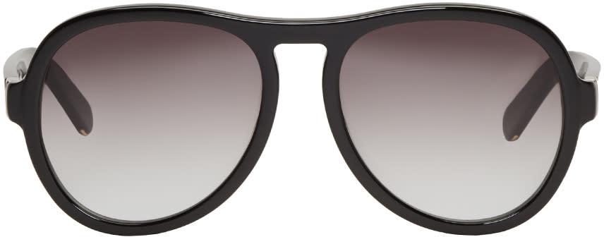 Chloe Black Aviator Sunglasses