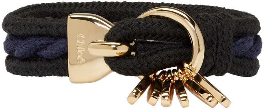 Chloe Black Marin Bracelet