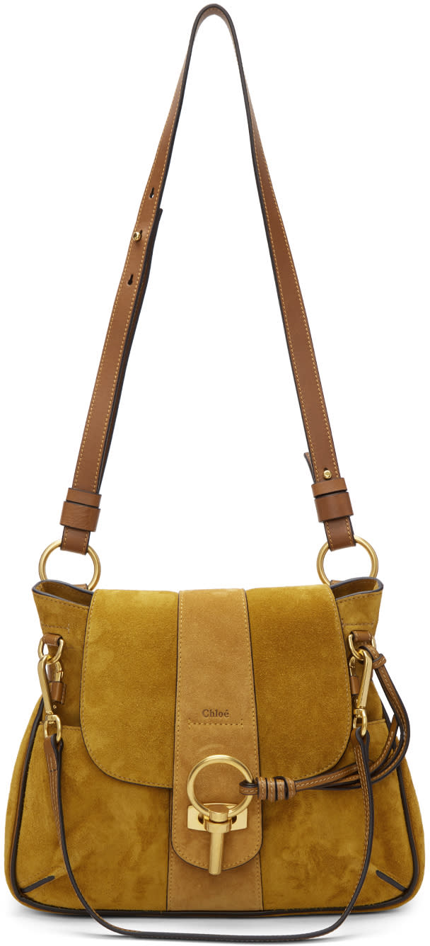 Chloe Brown Small Lexa Bag
