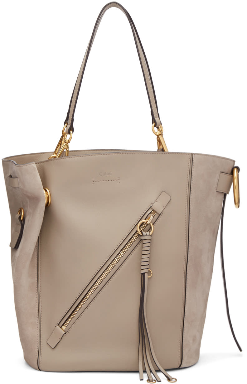 Chloé Grey Medium Myer Tote