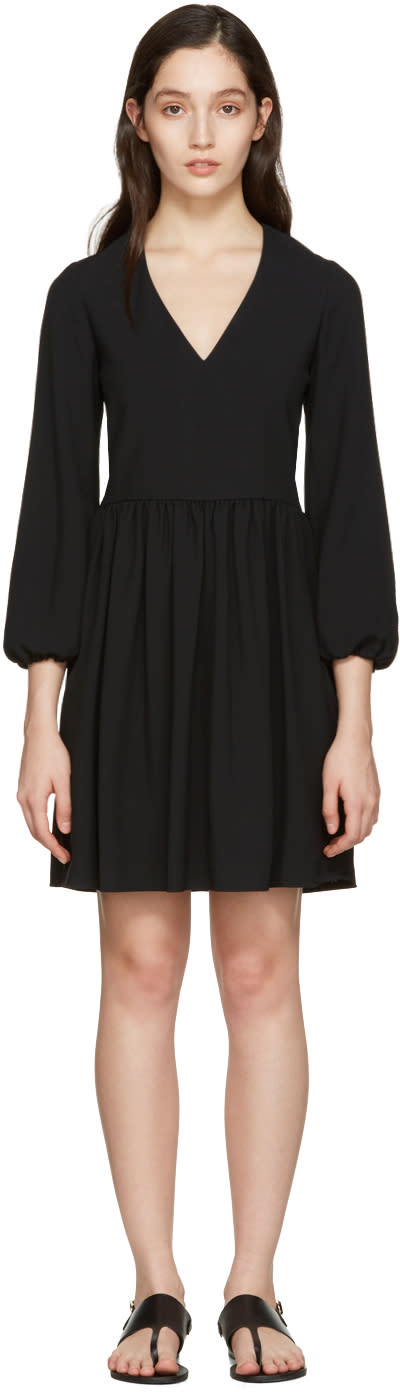 Chloe Black Deep-v Dress