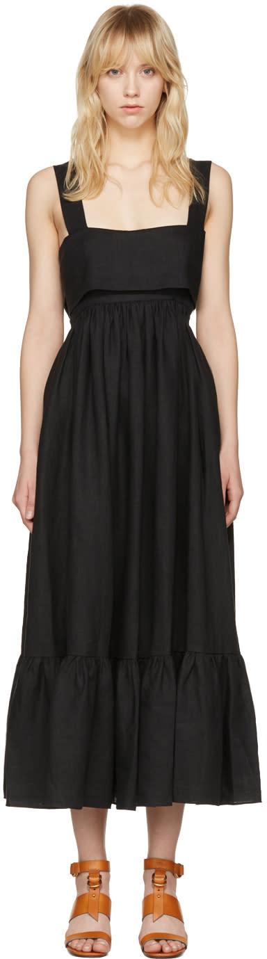 Chloé Black Bow Back Dress