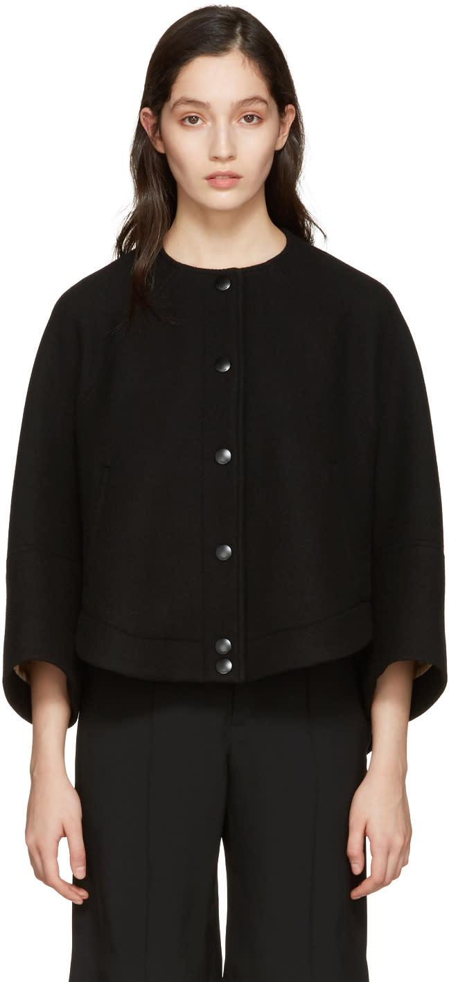 Chloe Black Cropped Jacket