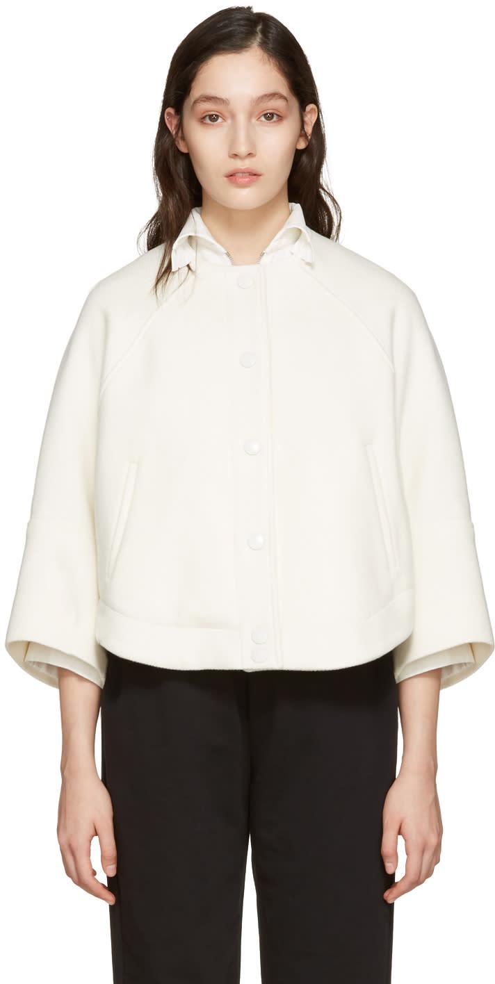 Chloe Ivory Cropped Jacket