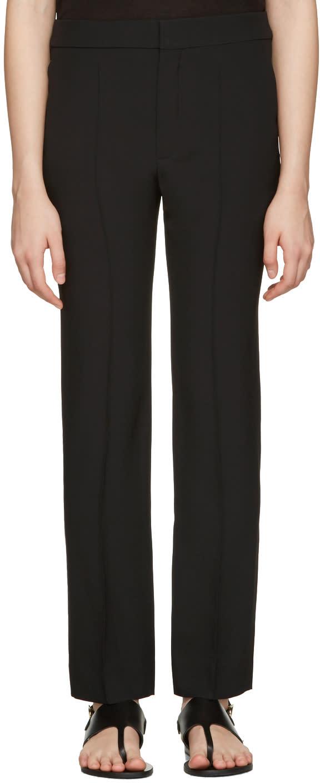 Chloe Black Cady Trousers