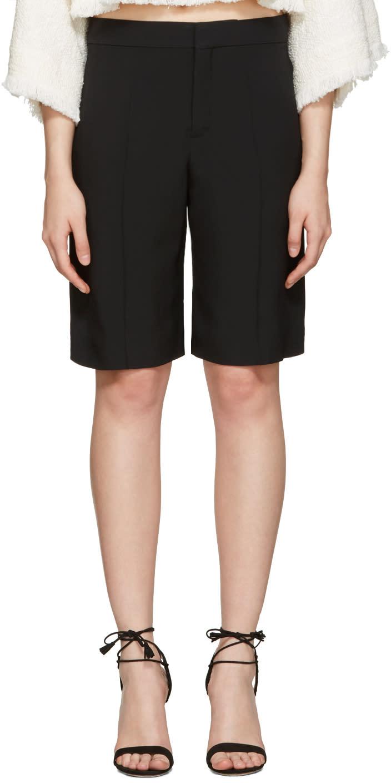 Chloe Black Classic Cady Shorts