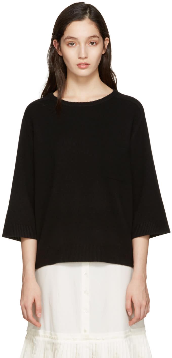 Chloe Black Cashmere Iconic Sweater