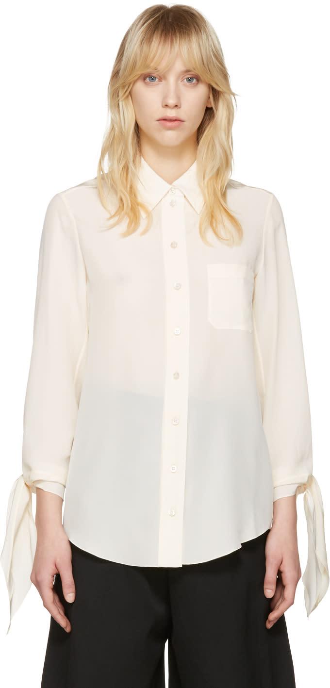 Chloe Ivory Classic Pocket Shirt