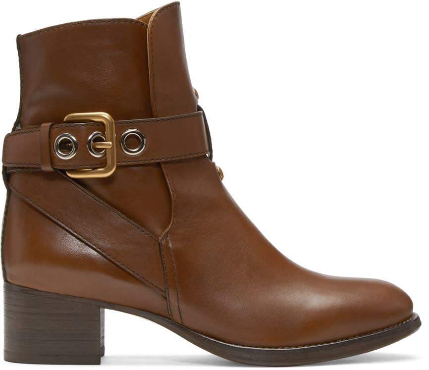 Chloe Brown Max Boots