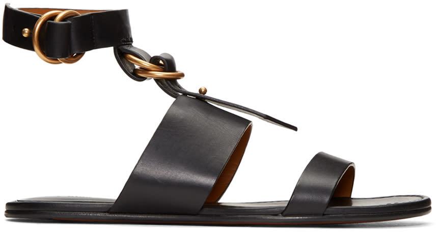 Chloe Black Kingsley Sandals