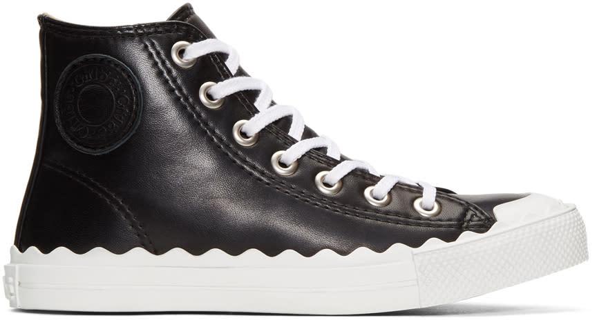 Chloe Black Kyle High-top Sneakers