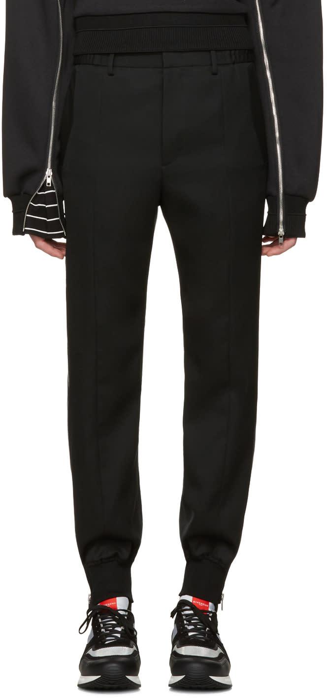 Juun.j Black Side Zip Trousers
