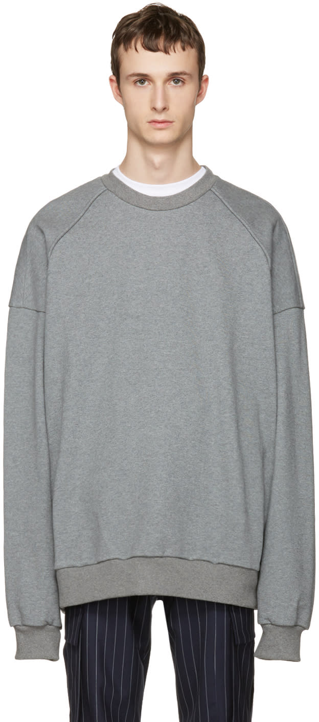 Juun.j Grey i Know Both Pullover