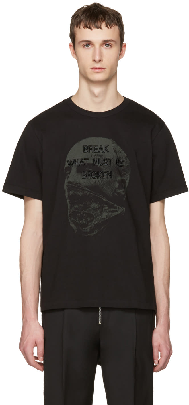 Juun.j Black break What Must Be Broken T-shirt