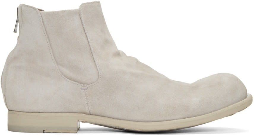 Officine Creative Grey Bubble 38 Chelsey Boots