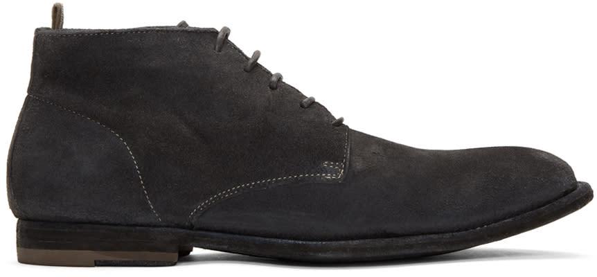 Officine Creative Grey Coorda 2 Boots