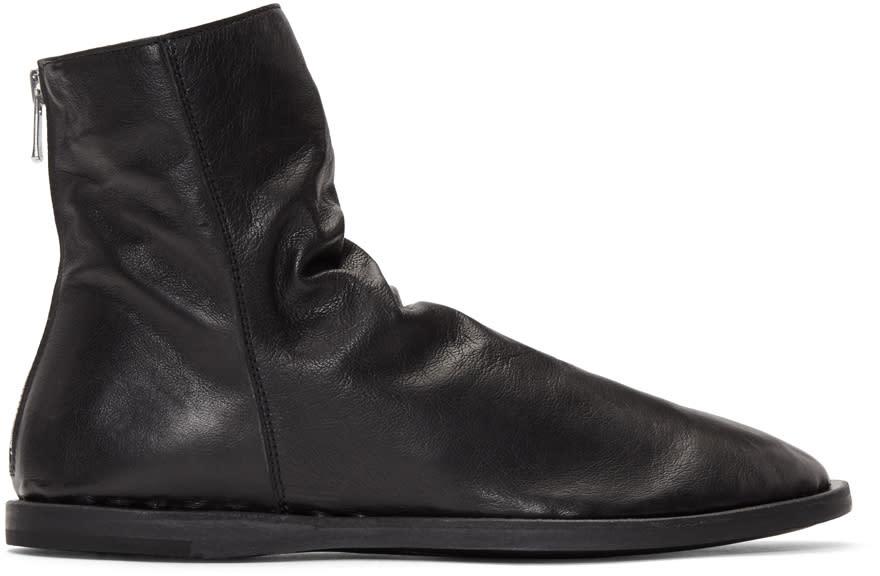 Officine Creative Black Felix 5 Boots