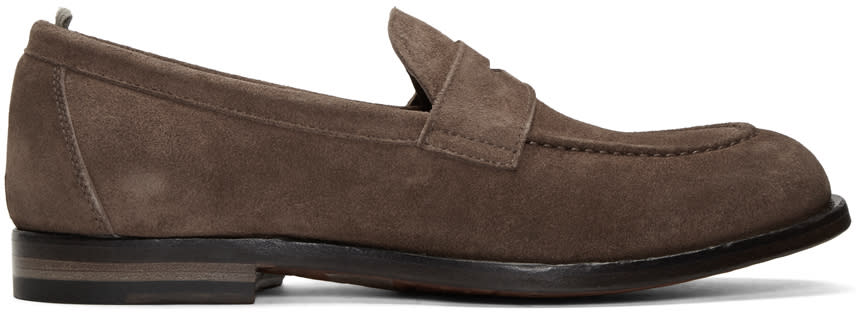 Officine Creative Brown Ivy 2 Loafers