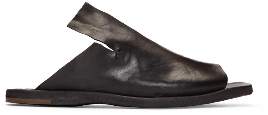 Officine Creative Black Kimolos 1 Sandals