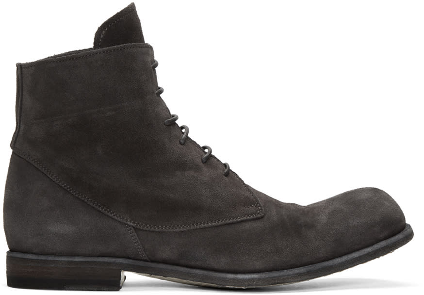 Officine Creative Grey Bubble 10 Boots