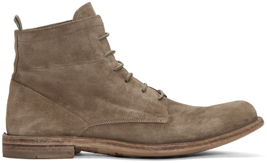 Officine Creative Taupe Ideal 19 Boots