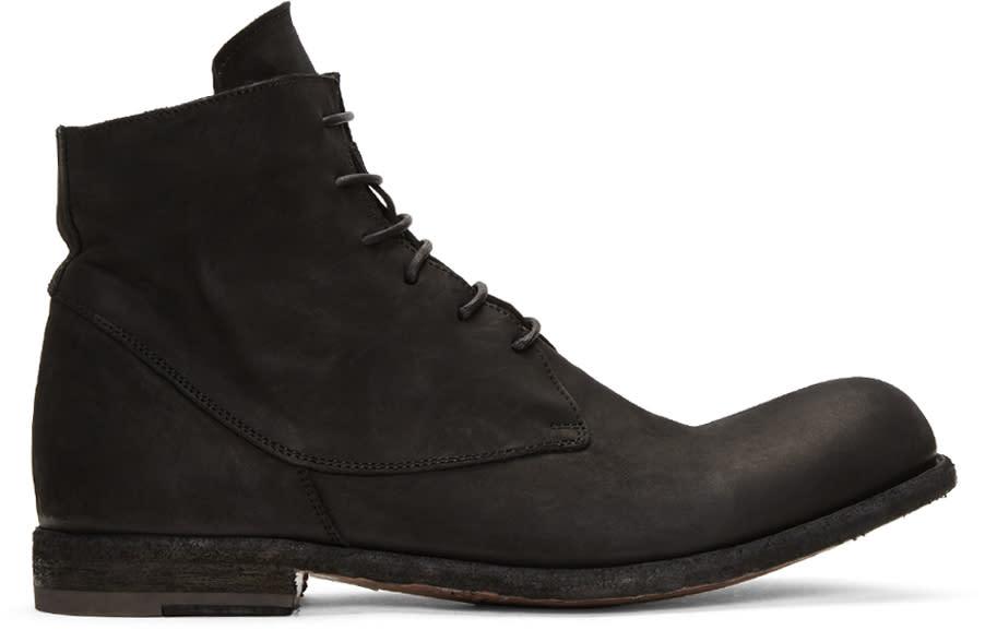 Officine Creative Black Bubble 10 Boots