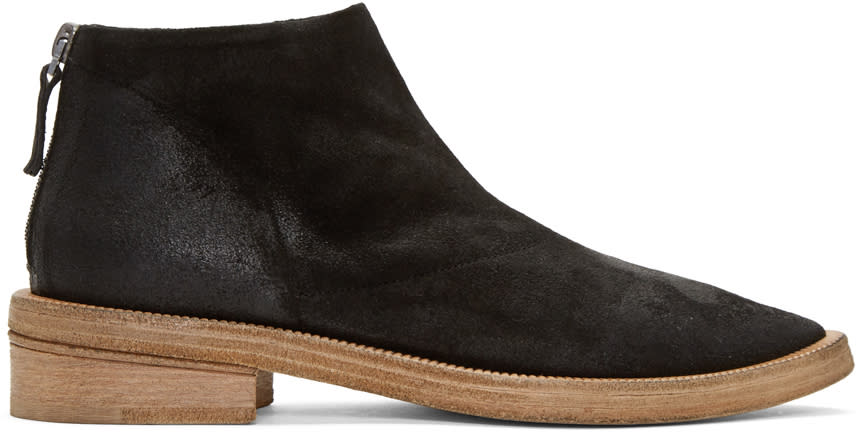 Marsell Black Cuneone Boots