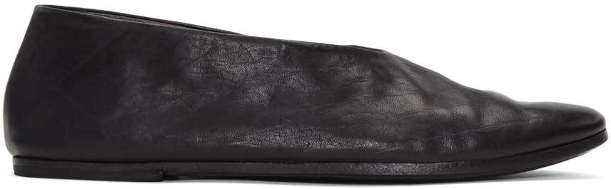 Marsell Black Coltellacio Ballerina Flats