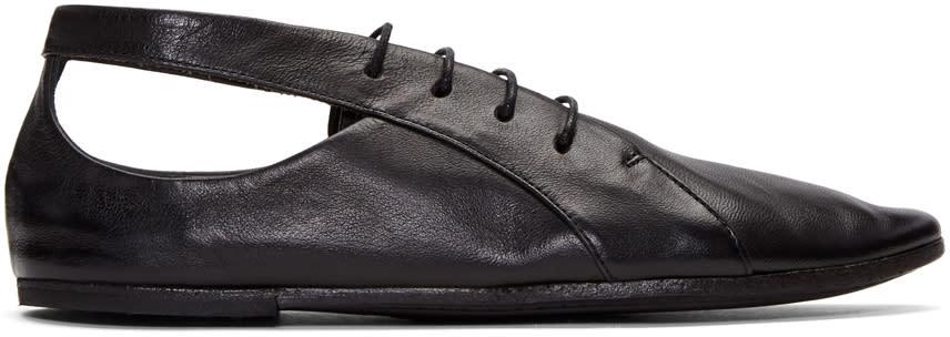 Marsell Black Coltellaccio Oxfords