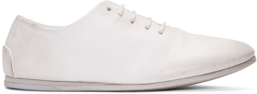 Marsell White Dritta Oxfords