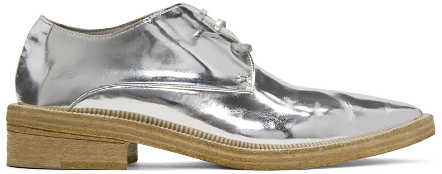 Marsell Silver Cuneone Derbys