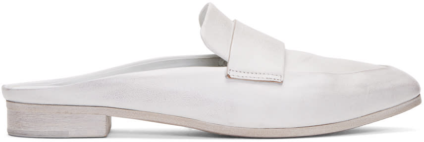 Marsell White Colteldino Loafers
