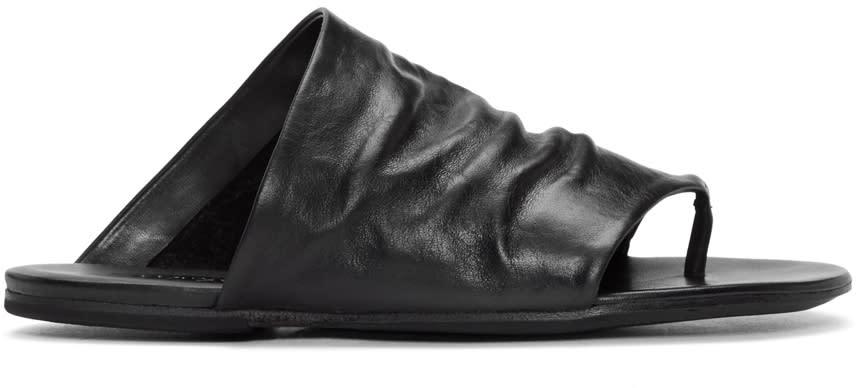 Marsell Black Arsella Sandals