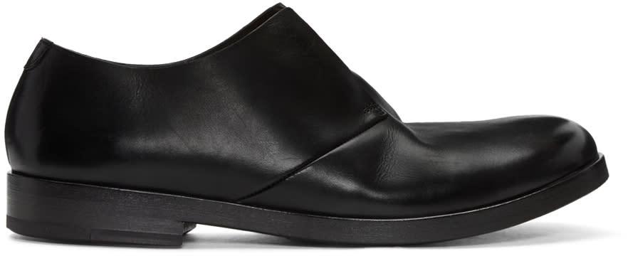 Marsèll Black Leather Lista Derbys