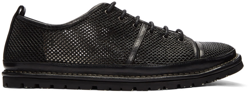 Marsell Black Ricicarro Sneakers