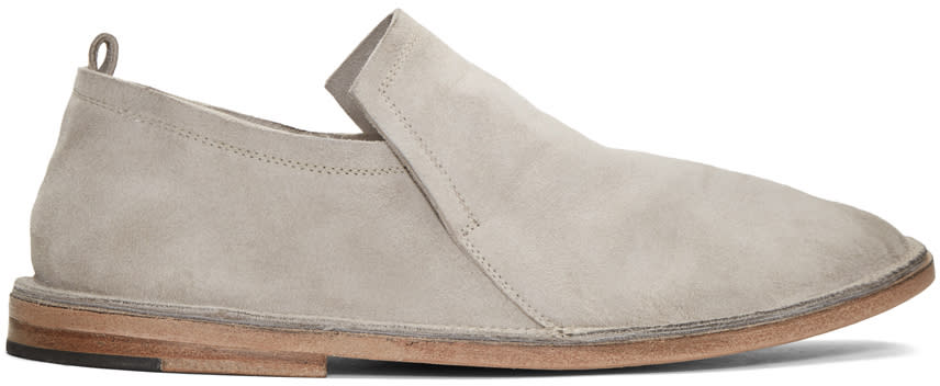 Marsell Grey Suede Tost Loafers