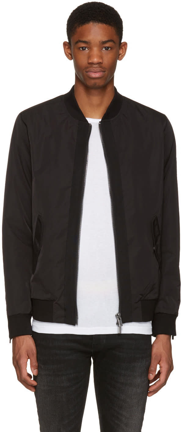 Blk Dnm Black 90 Bomber Jacket