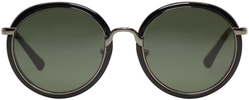 Dries Van Noten Black 78 Sunglasses