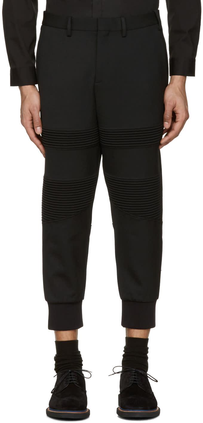 Neil Barrett Black Biker Trousers