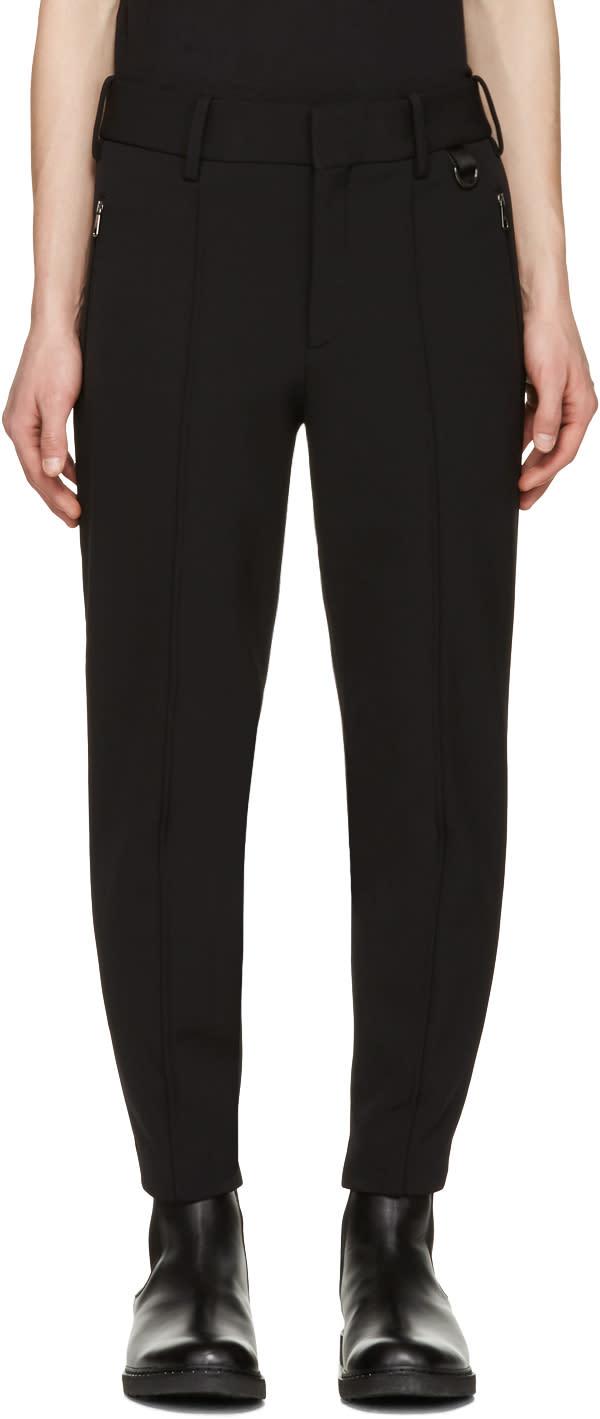 Neil Barrett Black Slim Ski Trousers