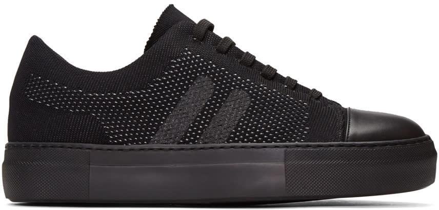Neil Barrett Black Skateboard Sneakers